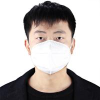 Latex Free Folding FFP2 Mask High Filtration Capacity Adsorb Industrial Toxic Dusts