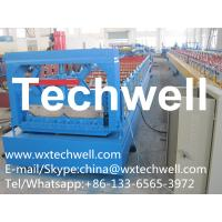 Welded Structural Steel Machine Frame Standing Seam Roof Panel Roll Forming Machine