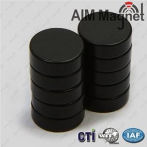 China epoxy coated magnets 3/4 inch round, block shape magnets on sale