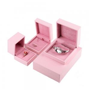 China Small Velvet Luxury Ring Jewelry Box Custom Personalized Wedding Romantic Sweet on sale