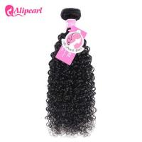 Kinky Curly Indian Virgin Hair Bundles , 8A Remy Indian Wavy Hair Weave
