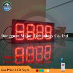 (Format 88.88) 8 inch led gas price station digital screen