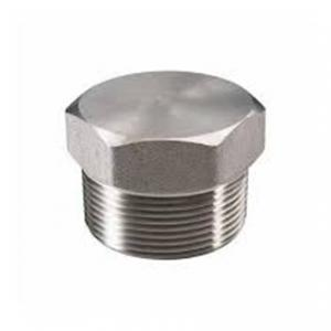China Hex head Type One  ASTM A182 F316L Touch Fitting Pipe Plug on sale