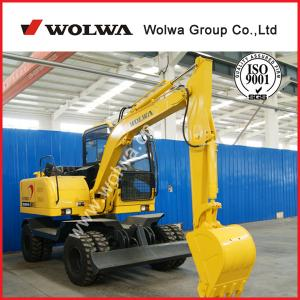 China 7ton shandong wolwa excavator truck excavator used tyres excavator for sale on sale