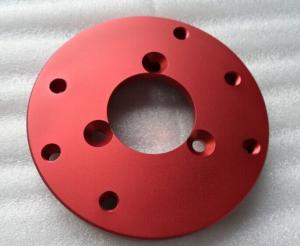 China Mechanical CNC Anodized Aluminum Machined component by Precise turning on sale