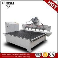 China Multi Spindles 1325 CNC Router Machine For Solid Wood / Acrylic Engraving on sale