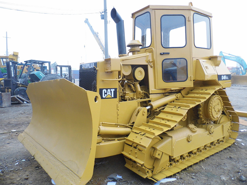 Used Caterpillar D4H Second Hand Bulldozers 3 Shanks Ripper