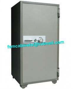 China Fireproof Filing Cabinets With Turn Key Lock , Fire Resistant File Cabinet For Paper on sale