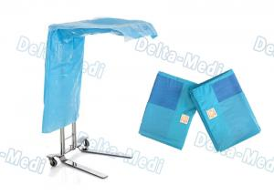 China Reinforced Medical Plastic Products Mayo Stand Plastic Sheet Table Cover on sale