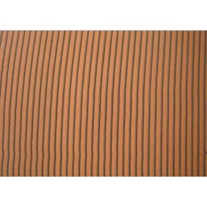 China Paladio 100% de la tela de la raya del melocotón de las lanas del poliéster on sale