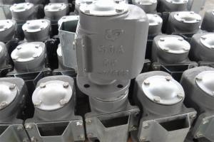 China Air Pipe Head-Cast Iron Air Vent Head 250A JIS on sale