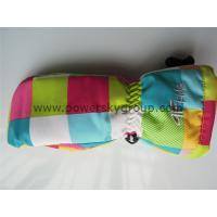 China brand named womens ski gloves OEM offered waterproof fashion ski gloves on sale