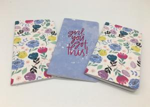 China 210x108mm Personalised Stationery For Adults Pocket Soft Cover Diary Notebook on sale