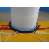 China 100% Virgin PFA PTFE Tubing Food Grade Hardness 55 Shore D Anti - Corrosion on sale