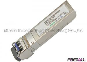 China High Speed 10Gbps SFP+-LR Fiber Optic Transceiver Single Mode Pluggable on sale