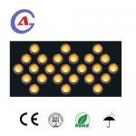 Flashing traffic solar sign LED Arrow Board Sign trailer
