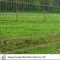 Woven Wire Fence Roll|Called Non-Climb Security Fencing Mesh for Horse Cattle