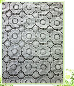 China 100 cotton lace fabric water soluble embroidery fabric,Water-Solute Lace Fabric on sale