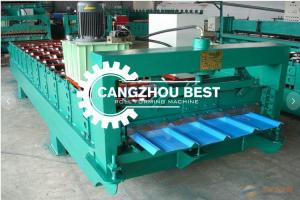 China 50Hz Corrugated Iron Roofing Sheet Making Machine on sale