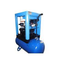 Low Noise Screw Air Compressor / Lubricated Rotor Comp Compressor AC Power