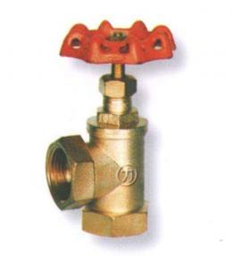 China Screwed Size Dn50 Pn25 Copper Globe Valve With Femle Screwed Ends 1/4 - 2 on sale