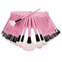 China Traveling Cosmetic Artist Professional Makeup Brush Set Synthetic Hair 32 Pcs on sale