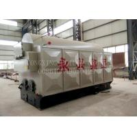 China 1 Ton Wood Pellet Steam Generator Sawdust Burner Boiler Long Service Life on sale