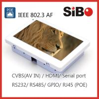 China SIBO Q896 Android Tablet With POE And Inwall Flush Mount Box on sale