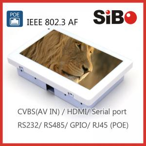China Wall Mounted Android Tablet with RS232 RS485 Humidity sensor on sale