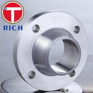 China Forged Tube Machining Weld Neck Flange For Machinery Parts ANSI B16.5 DN15 - DN1200 on sale