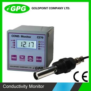 China CE Cetificate C270 Industrial Online Electrical Conductivity Meter / EC Meter on sale