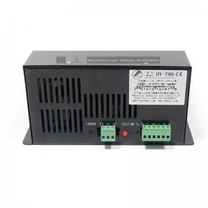 80W CO2 laser power supply AC110 220V HY-T80 for laser