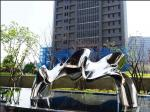 Polished Mirror Stainless Steel Outdoor Sculpture For Public Decoration