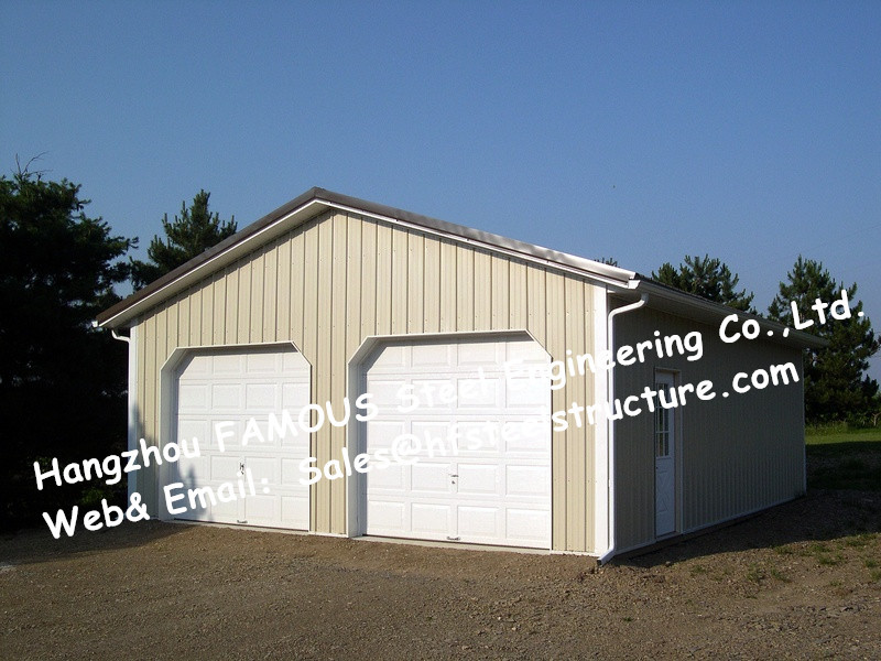 Bespoke Pre Engineered Steel Buildings Customized Size For Car ...