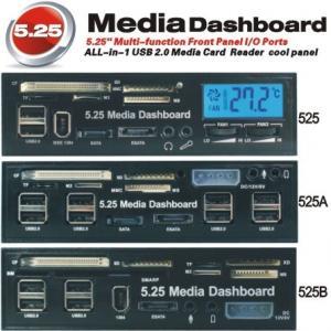 "Quality 5.25"" USB 2.0 internal multi card reader & writter multi function panel (MH-MFP for sale"
