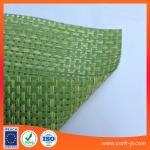 light green color Textilene material mesh fabric 4X4 woven Textoline