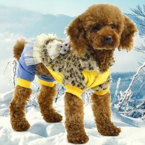 China Best price for dog clothes puppy coat on sale