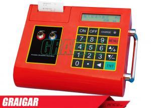 China Ultrasonic Flow Meter and Temperature/ Heat Meter TUC-2000E digital Flowmeter built-in printer on sale