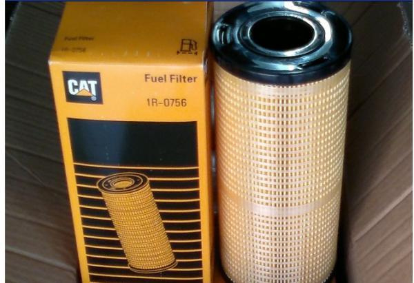4  NEW CAT 1R-0756 FUEL FILTER CATERPILLAR 1R0756 OEM 4 PACK!