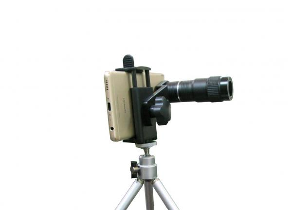 Versatile durable mobile phone telescope with large amount of