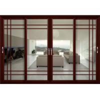 Elegant design german siegenia hardware flexibly aluminum sliding glass doors