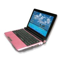 China Intel atom CPU 10.2 inch laptop with built in DVD-RW, two shortcut key, Camera on sale