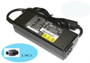 China ABS / PC Case 80W Fujitsu Siemens Laptop Charger for A1110 / A1130 / A1600 on sale
