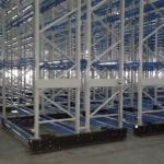 Warehouse Equipment Steel Mobile Storage Systems With Powder Coating