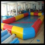 China los 8*8m de alta calidad Customzied PVC0.9 venden al por mayor la piscina inflable cuadrada, piscina inflable colorida wholesale