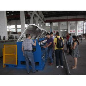 China Straight Line Continuous Wire Rod Drawing Machine , Ironed Cast Copper Wire Making Machine on sale
