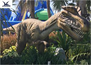 China Artificial Full Size Dinosaur Models Animatronic Dinosaur Statues For City Plaza on sale