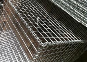 China Heavy Zinc Coated Welded Galvanized Stone Cages For Retaining Walls Anti-Impact on sale