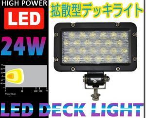 China CREE 24W LED work light off-road lamp forklift lamp bulldozer shoot the light truck high power work light on sale
