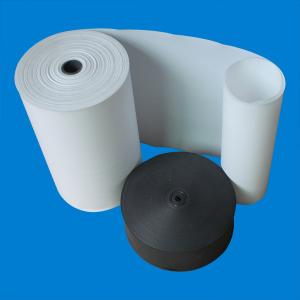 China Skived PTFE Sheet / Soft Pure White Polytetrafluoroethylene Sheet on sale